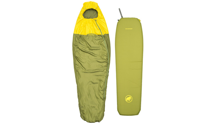 Mammut Starter Kit Spring Sleeping Bag & Mat neutral